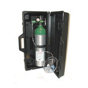 Booth Medical - Mada D Emergency Oxygen Kit with Black Carry Case - 1529E