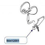 Midmark Chair - Knee Crutch Mounting Brackets  - Pair - 9A412001