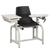 Booth Medical - Clinton 66029-P Blood drawing chair with Drawer