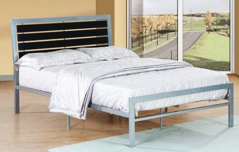 Modern metal platform bed