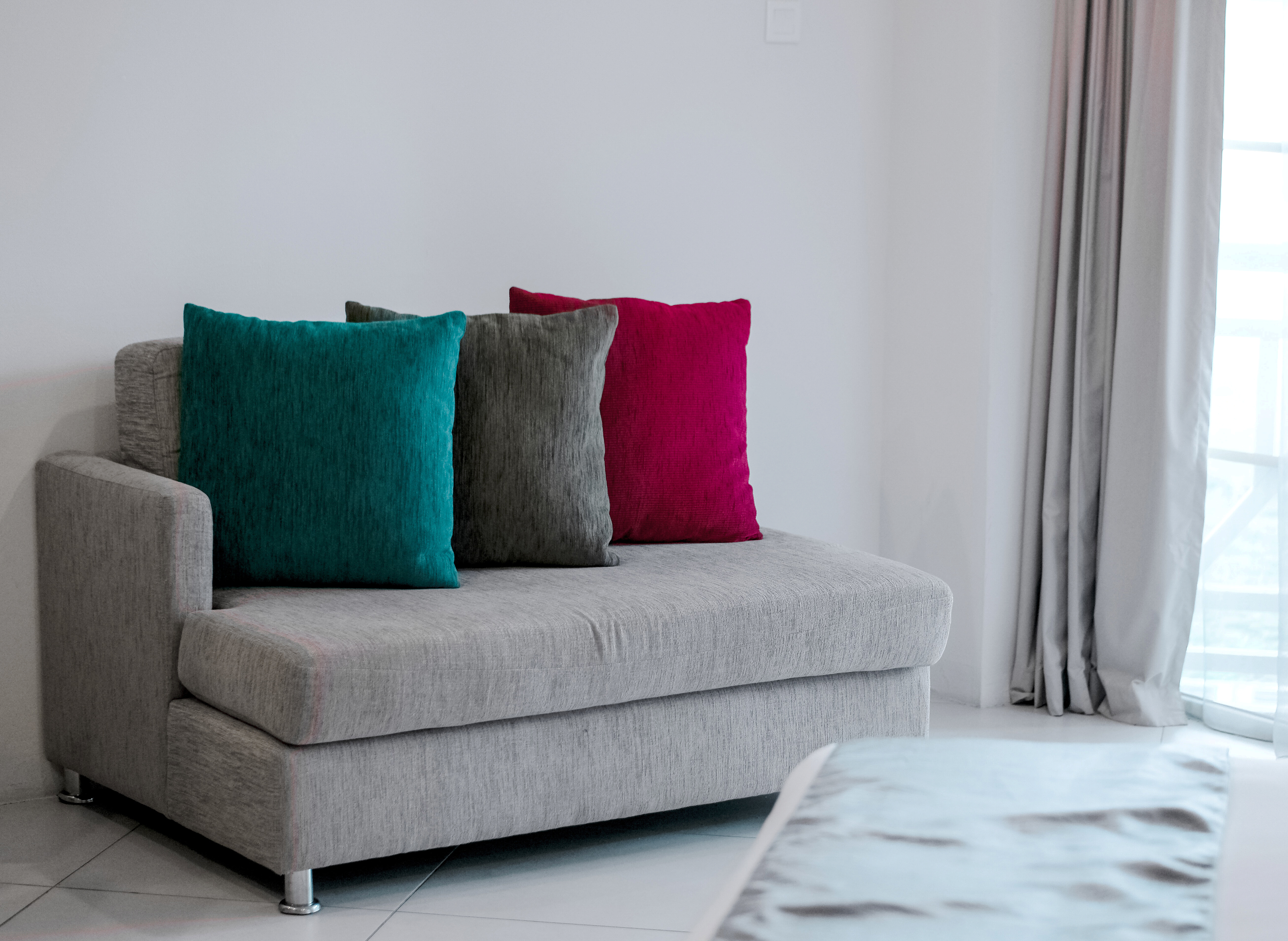 You can keep your linen sofa beds clean using different products for certain types of stains.