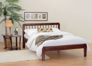 Malibu solid wood platform bed