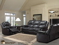 9393 leather sofa w/ recliner