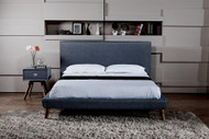 K19 fabric modern platfom Bed