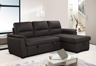 RK4015 modern sofa bed with storage unit