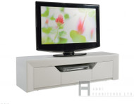 9909 Gloss White TV stand