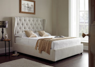 K77 fabric lift up storage bed