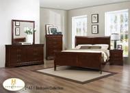 Louis philip sleigh bed