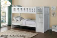 B2053 twin/ twin Step bunkbed