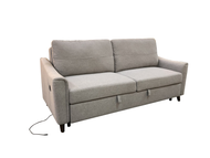 RK-5033 GREY LINEN SOFA BED
