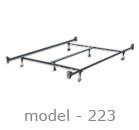 #223 adjustable bed rail