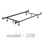 #220 adjustable bed rail