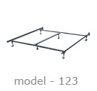 #123 adjustable bed rail