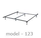 #123 adjustable bed rail