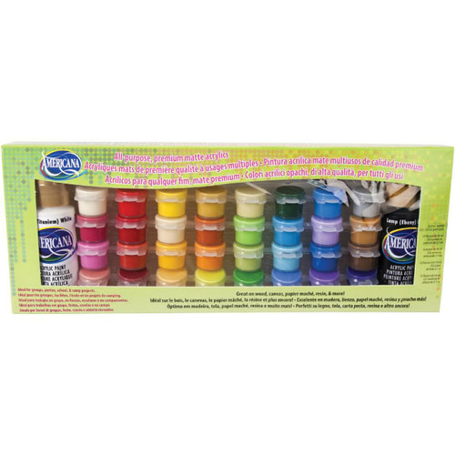DecoArt Americana Craft Paint - 34 Color Pack