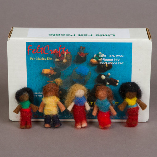 Wet Felting Kit - Little People