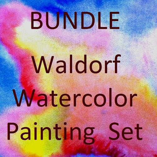 Bundle - Waldorf Watercolor Painting Set