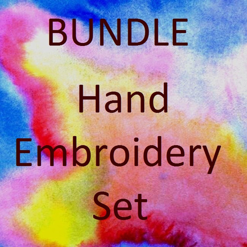 Child's Hand Embroidery Set