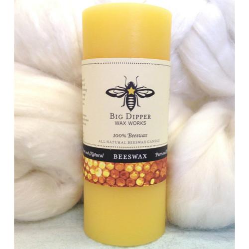 Beeswax Pillar Candle