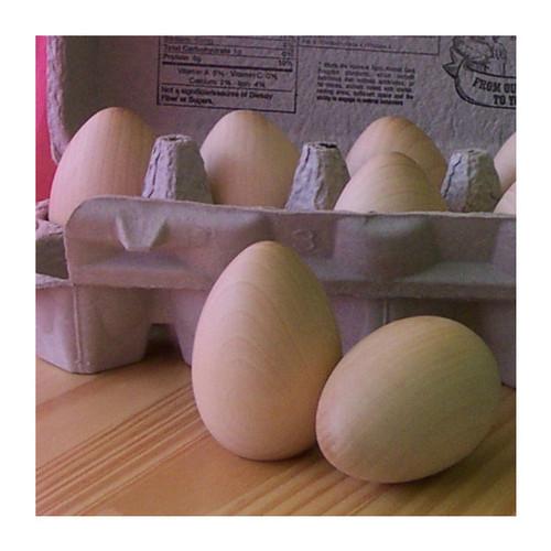 Wood Eggs