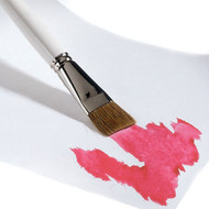 Wide Paint Brush for Waldorf Watercolor Painting
