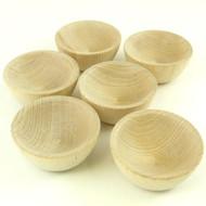 Set of Wee Wood Bowls