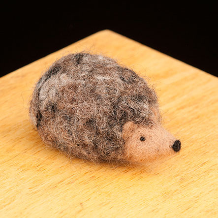Woolpets Hedgehog Needle Felting Kit - Easy