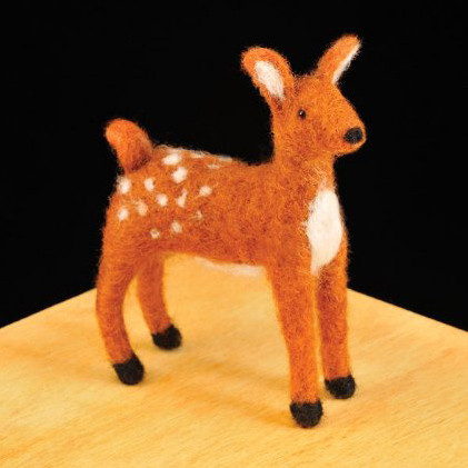Woolpets Fawn Needle Felting Kit - Intermediate