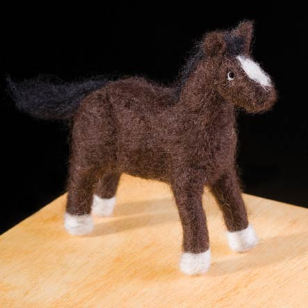 Woolpets Pony Needle Felting Kit - Intermediate