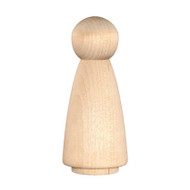 Wood Peg Doll - Mother