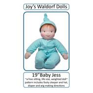 "19"" Baby Jess Pattern"