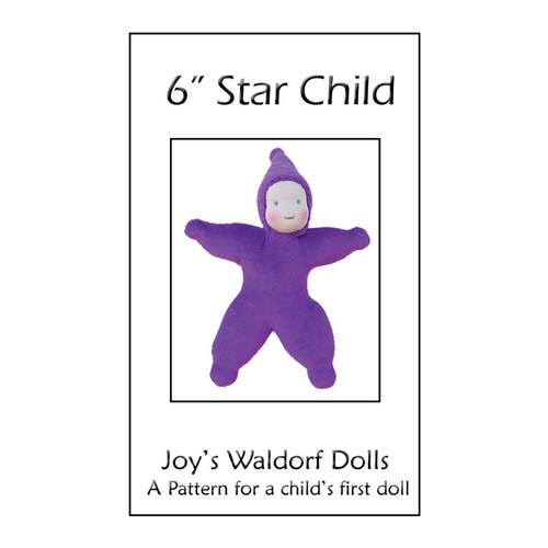 """6"""" Velour Star Child Pattern"""
