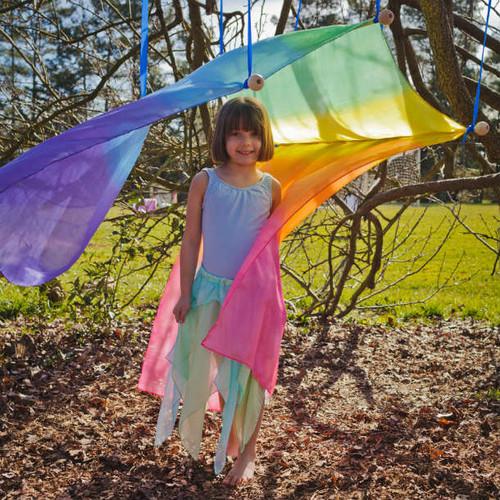 Giant Rainbow Silk