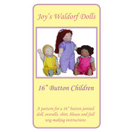 "16"" Button Child Pattern"