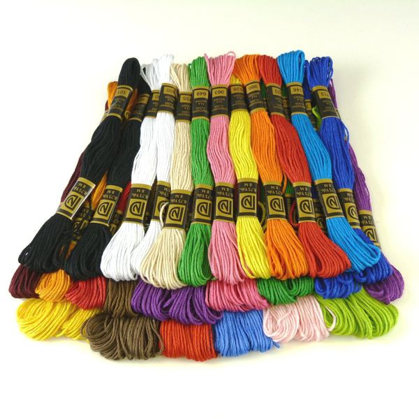 Embroidery Floss Assortment Pack 36 Skeins A Childs Dream