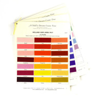 Holland Wool Felt Swatch Card