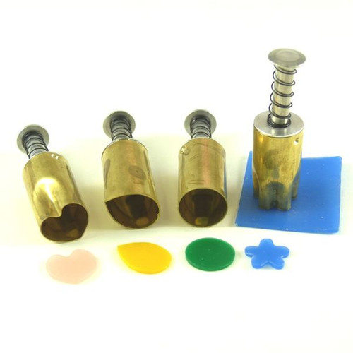 Decorating Wax Punch Cutter Set of 4