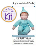 "19"" Baby Jess Doll Making Kit"