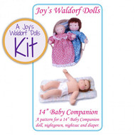 "14"" Baby Companion Doll Making Kit"