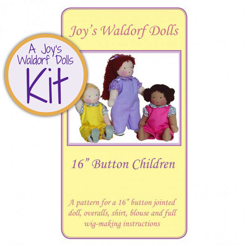 "16"" Button Child Kit - Long Hair"