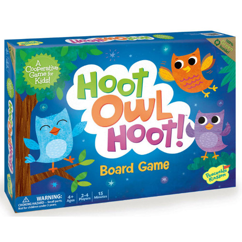 Hoot Owl Hoot Cooperative Board Game