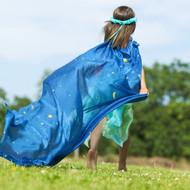 Starry Night Silk Scape