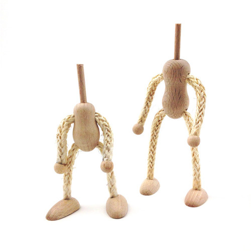 Bendy Rope Doll - Small Headless