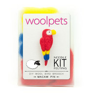 Woolpets Macaw Pin Needle Felting Kit