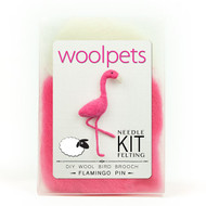 Woolpets Flamingo Pin Needle Felting Kit