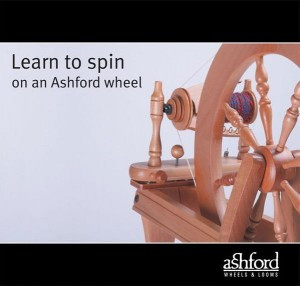 Learn to Spin on an Ashford Wheel - Booklet