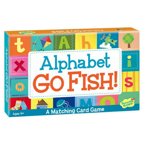 Peaceable kingdom alphabet go fish game a child 39 s dream for Fish card game