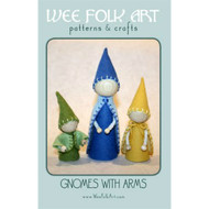 Gnomes with Arms Pattern Booklet