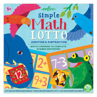 Simple Math Lotto Game