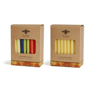 Hanukkah Beeswax Taper Candles
